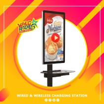 Wired & Wireless Charging Station