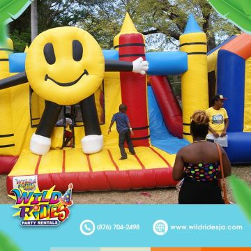 Show us your #biggestsmile; Tell us about your favorite inflatable. Comment belo