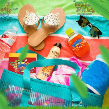 Sunday July 3rd is a #beachday, get your Ultimate Family Fun Tour Starter pack r