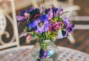 Summer Jam Jar Flowers