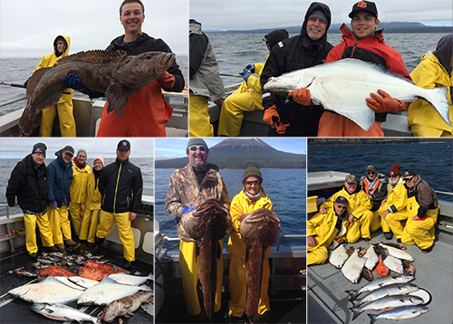 5 21 2016 Successful Alaska Resident and Non resident anglers