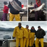 6-3-2016 King salmon in the boat is a job well done