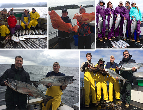 6 6 2016 A great fishing day for clients and lodge staff