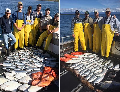 7 12 2016 Fabulous fishing frenzy in Sitka Alaska