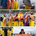 8-13-2016 Big bottomfish a big king big weather