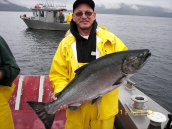 Big Alaska King Salmon