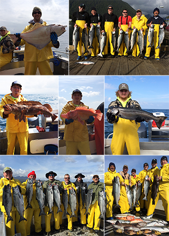 6 8 2015 Lots of lucky anglers today