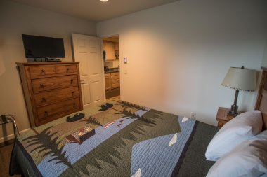 Wild Strawberry Lodge Suites were designed with comfort and entertainment in mind