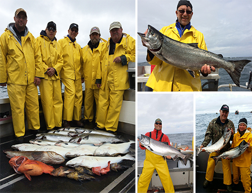 7 14 2015 A wet cold day doesnt keep the fishermen away
