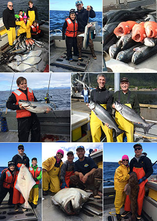 8 29 2015 Keeping kings cohos releasing halibut lings