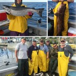8-31-2016 A beautiful day with a releaser lingcod