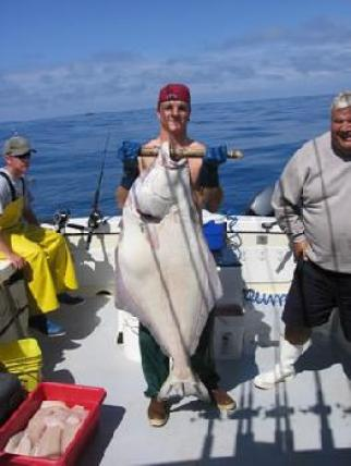 Awesome Halibut on a Sunny Day