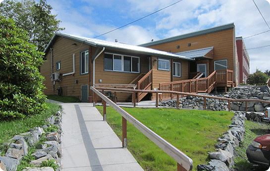 Front House at Wild Strawberry Lodge / Alaska Premier Charters, Inc.