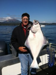 Halibut and a View of Sitka
