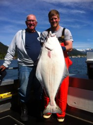 Halibut on a Sunny Sitka Day