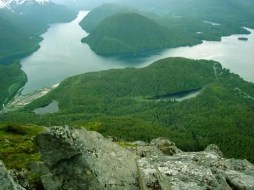 Mountain View Of East Sitka, AK