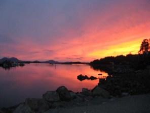 Sunset In Eliason Harbor Sitka, AK 4