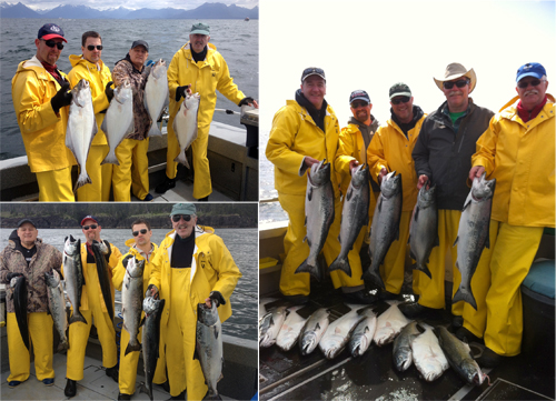 6 12 2014 Fathers Sons and families making fishing memories