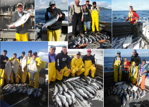8 15 2014 The weather blew in more shiny fish to catch