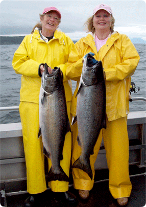 ladies salmon fishing, sitka alaska, alaska fishing, salmon fishing, girls who fish, alaska salmon, women fishing