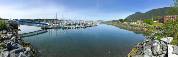 Eliason Harbor On A Sunny Day In Sitka, AK
