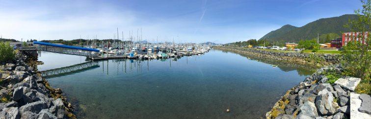 Eliason Harbor On A Sunny Day In Sitka, AK