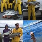 06-24-2017 Kings, cohos, ratfish, & lots of sole!