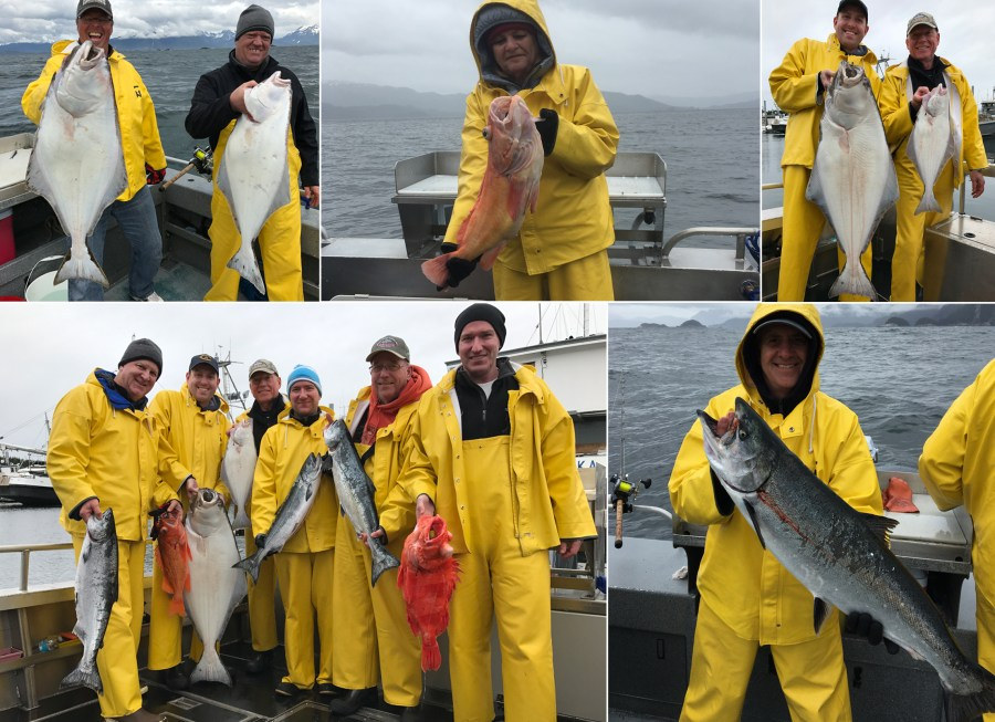 Fish off and on all day long!