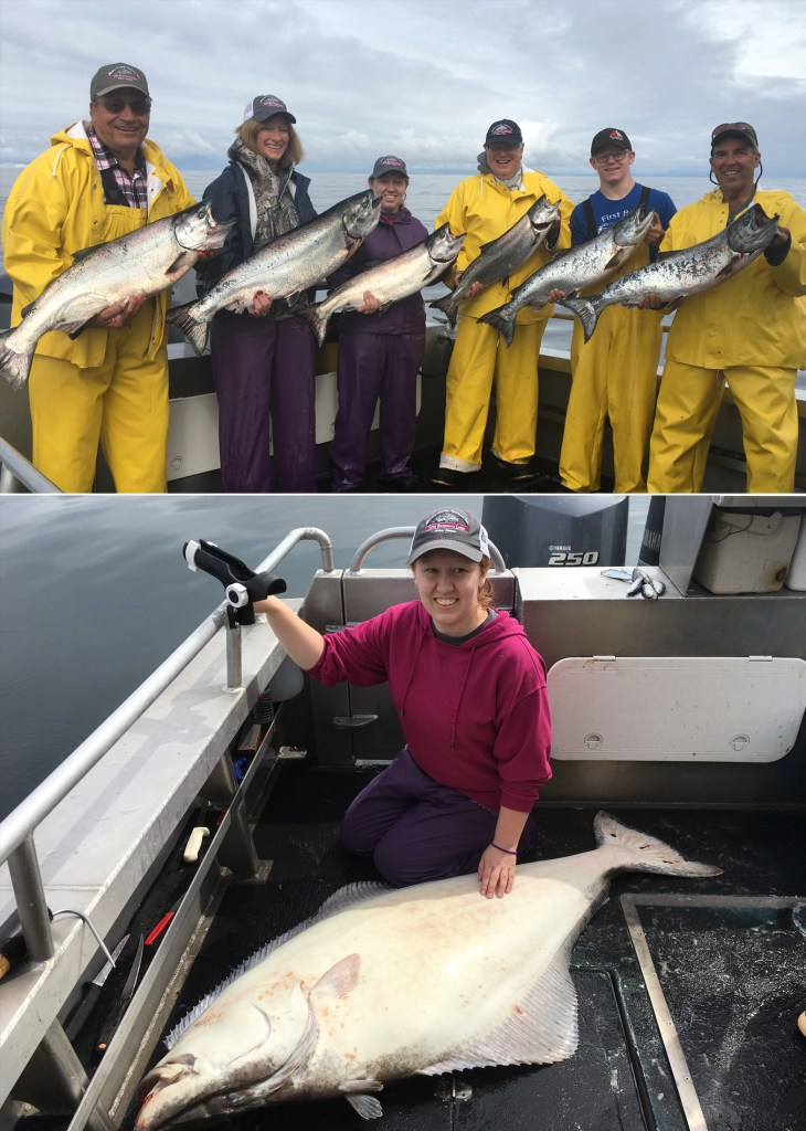 The Matthews party rocked the day with a 65 in. releaser halibut!
