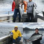 5-18-2019 Jills first King Salmon of the season!