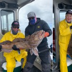 07-26-2020 Releasing Lingcod on a rough day!