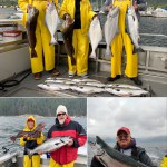 08-26-2020 Cohos, a King, Halibut, and Lings!