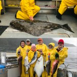 5-31-21 Petting a releaser halibut plus some good eaters on a rough day!