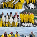6-7-21 Lots of King Salmon and Halibut to top the day!