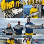 7-27-21 Hefty Halibut and shiny Kings round out the catch!