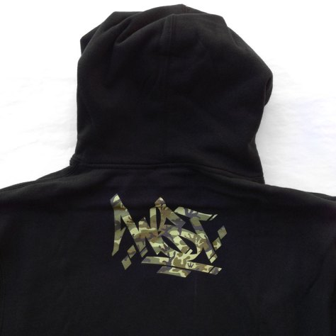 WST Camo Steez Pullover Hoodie back