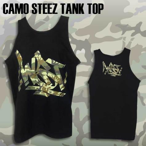 Men's Camo Steez Tank Top