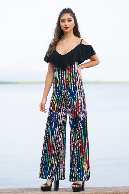 Seychelles Jumpsuit in Through the Trees