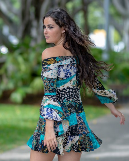 La Vita e Bella Dress in Gypsy Blue