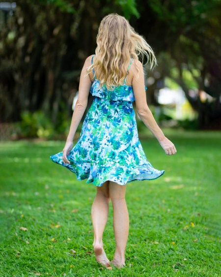 Seychelles Rose Dress in Fairyland