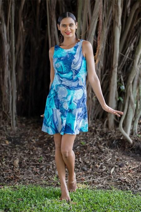 Daydream Dress in Waterfall