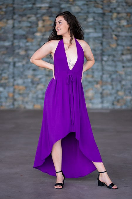 Moon Goddess Dress in Purple