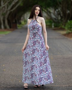 Solare Maxi Dress in Amazon