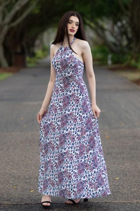 Solare Maxi Dress in Amazon