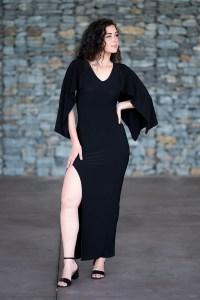 Ulysses Butterfly Dress in Black