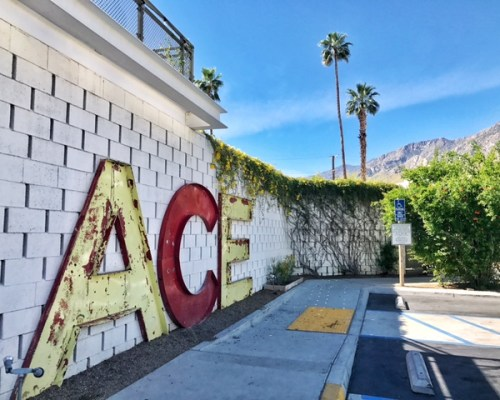 palm springs, ace hotel