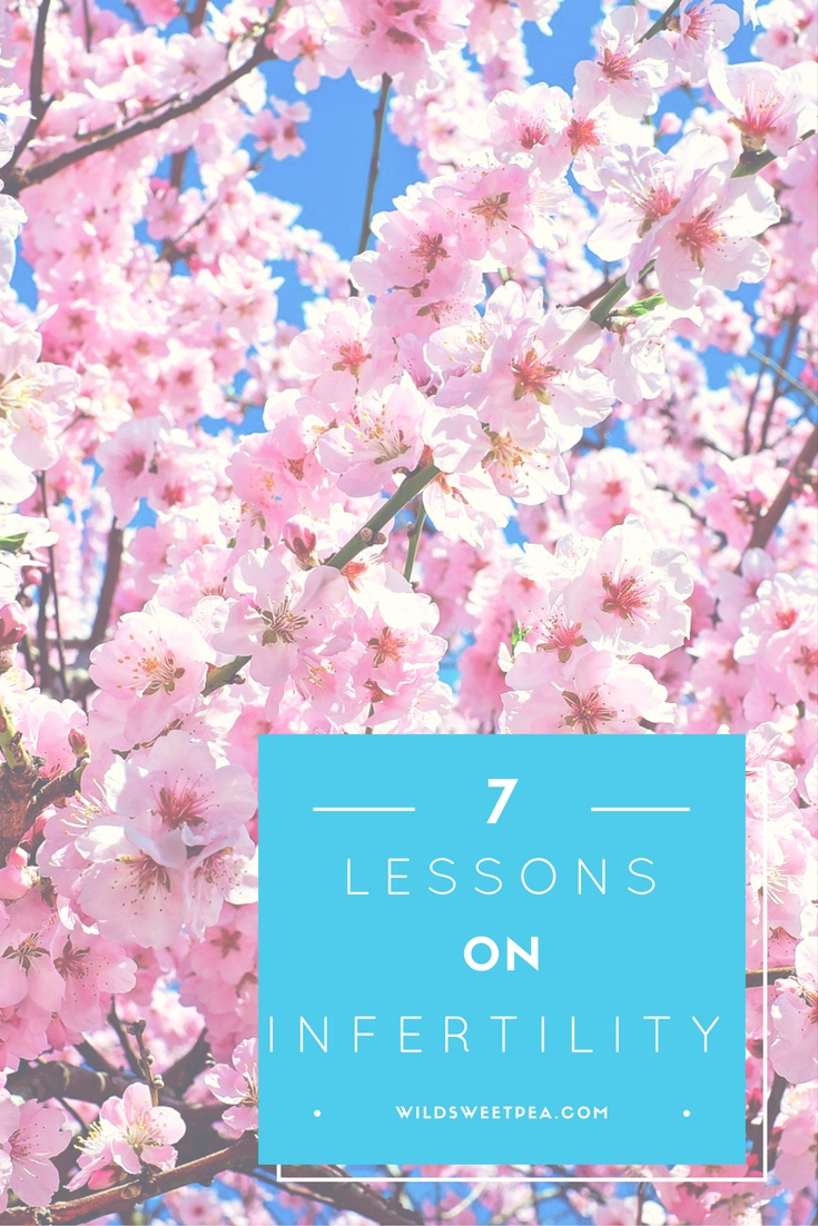 7 lessons on infertility