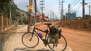 Bicycling out of Pattaya