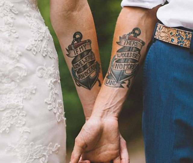 A Split Tattoo Can Be A Risky Move Towards Commitment To A Certain Relationship From Family And Friends And To That Risk Couple Tattoo