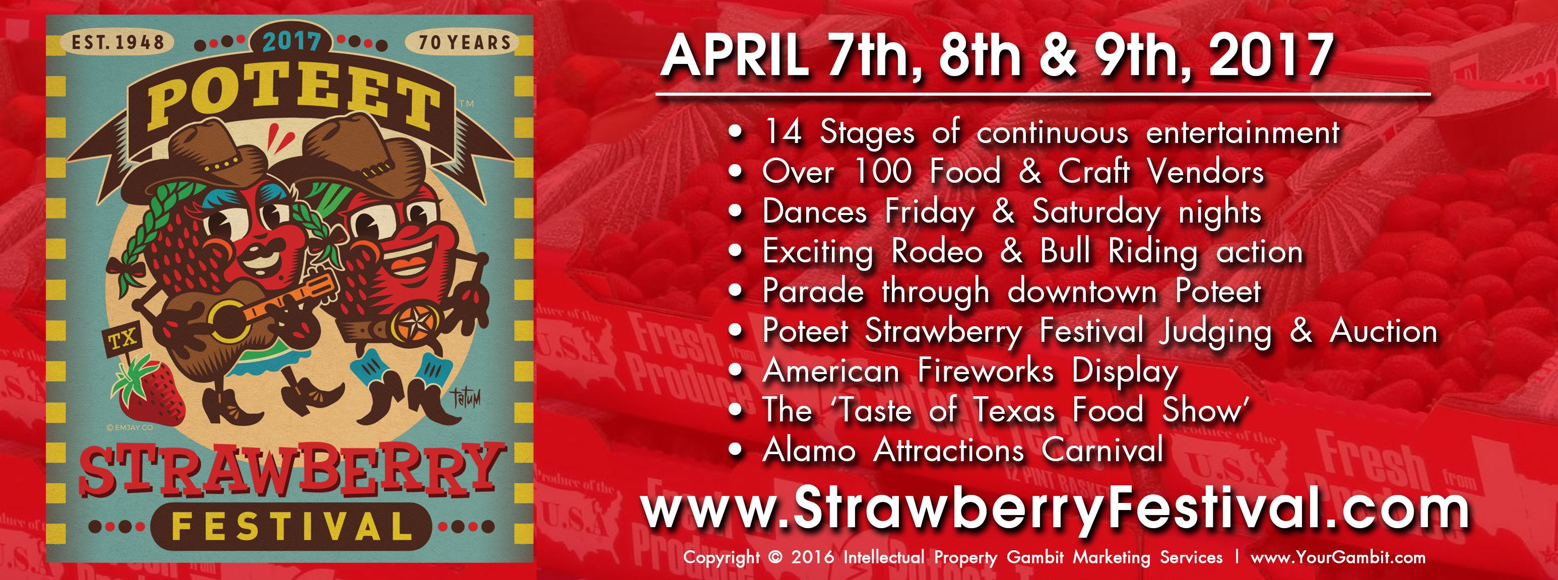 Poteet Strawberry Festival Carnival Rides